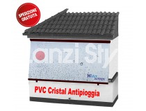 Tenda Antipioggia WaterScreen in PVC con Cassonetto